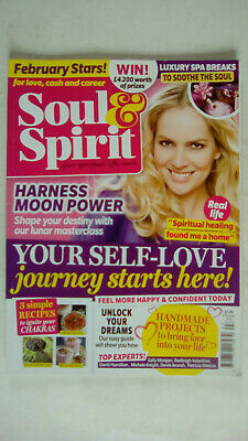 Soul and Spirit Magazine February 2016 Your Self - Love Journey Starts Here
