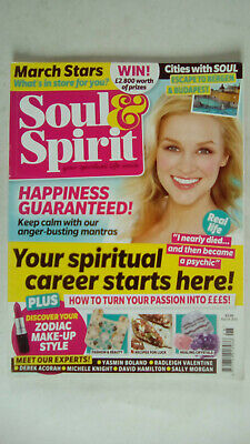 Soul and Spirit Magazine March 2016 Your Spiritual Career Starts Here