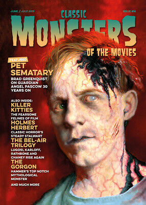 Classic Monsters Magazine Issue 16: Horror Film and Horror Movie Magazine