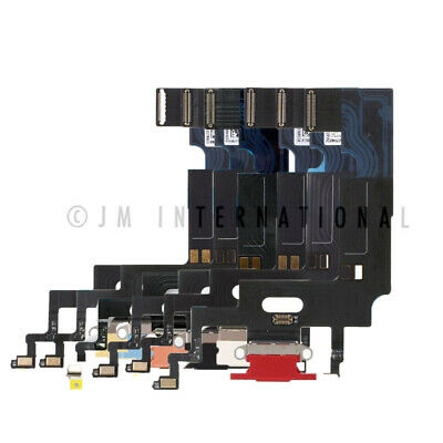 iPhone XR USB Charger Charging Port Dock Connector Flex Cable + Mic Replacement