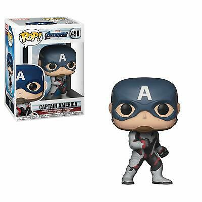 Funko Pop! Marvel: Avengers Endgame - Captain America 450 36661 Vinyl Figure