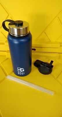 BOGI 32oz Double Wall Vacuum Insulated Stainless Steel Water Bottle Brand New