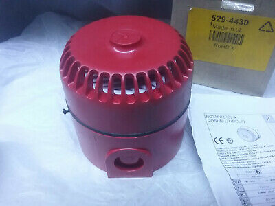 FULLEON ROLP Red 32 Tone Electronic Sounder, 9~28Vdc,102dB at 1 Metre (2 PIECES)
