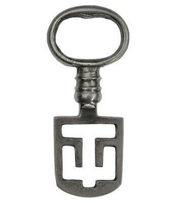 "Antique ODELL Latch Key 2¼"" - Edinburgh Tenement - ref.k149"