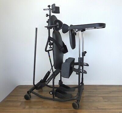 EasyStand 5000 standing frame - lateral support, headrest, easy-stand wheelchair