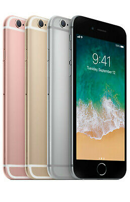 New in Box Apple iPhone 6 64GB 128GB GSM Unlocked Space Gray / Silver / Gold