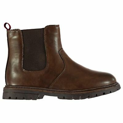 Soviet Chelsea Boots Childs Boys Brown Shoes Boot Kids Footwear