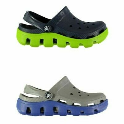 Crocs Duet Sport Sandals Infants Boys Flip Flop Thongs Beach Shoes