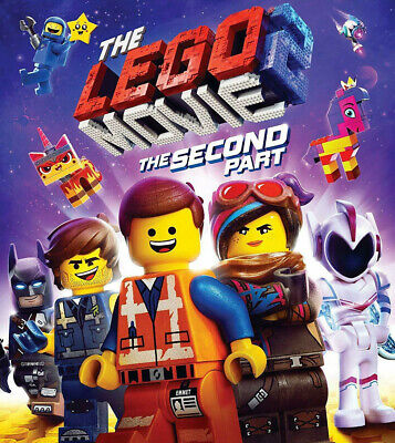 The LEGO Movie 2 The Second Part (Blu-ray, 2019) Blu-ray DISC ONLY NO CASE