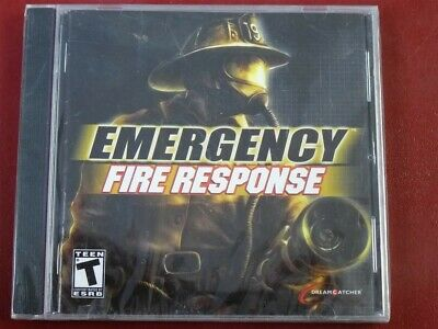 Video Game PC Emergency Fire Response NEW SEALED