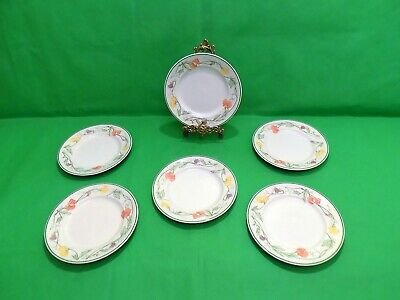 Johnson Brothers Summer Delight Side Plates x 6