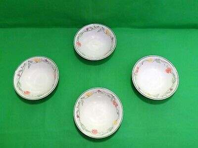 Johnson Brothers Summer Delight Cereal Bowls x 4