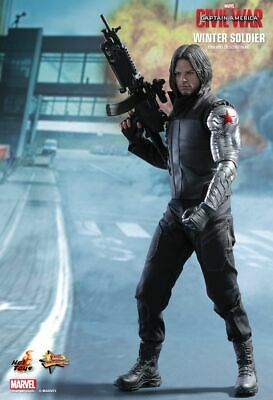 Layby New! Price = $699.99 Hot Toys 1/6 Captain America Winter Soldier Civil War