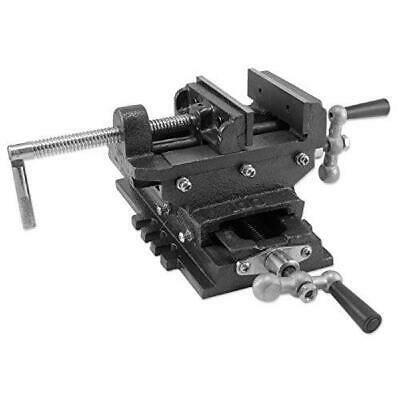 "6"" Heavy Duty Compound Precise 2 Way Cross Slide Vise TableTop"