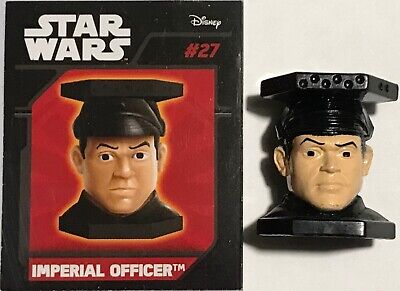 # 27 IMPERIAL OFFICER - ABATONS STAR WARS  PANINI DISNEY 2015 NUOVO con cartina
