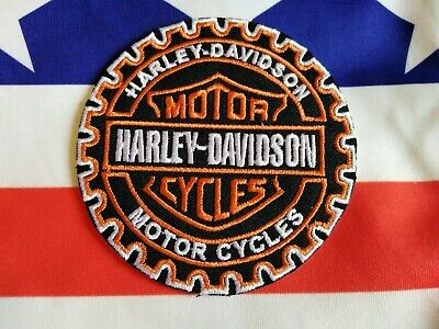 Toppa Patch Ecusson Abzeichen Moto  Harley Davidson Thermoaderente