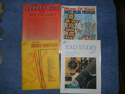 guitar song sheet music tabs book lot Kevin Daley Jay Arnolds Hoot Groovy Hits