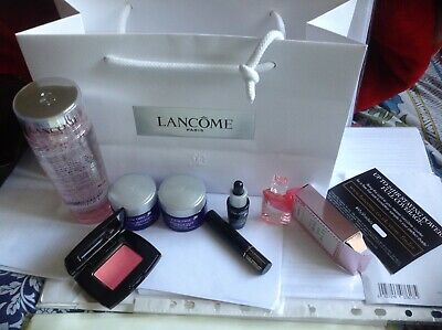 Lancome Renergie multi-Set/HOLIDAYS/BIRTHDAY/Party/7-Items/Travel/Festive/Eid.