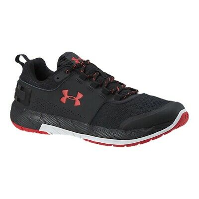 New Under Armour Men Commit TR EX Training Shoes Black Red 3020789-006 Sz 11