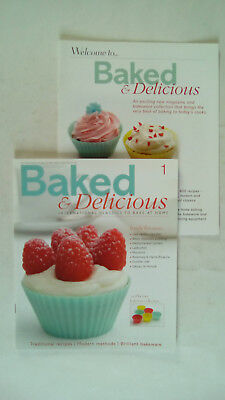 Baked & Delicious Issue Number 1 Eagle Moss Publication MAGAZINE ONLY NO CUPCAKE