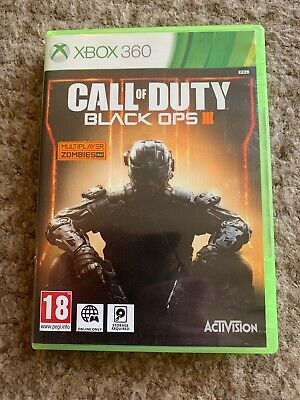Call of Duty: Black Ops III 3 for Xbox 360 – UK Preowned – With Free Postage Too