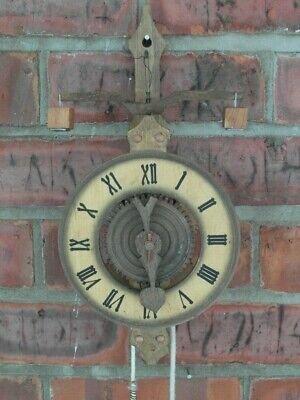 Foliot Weight Driven Medieval Gothic Clock Wooden by HELD RARE E146