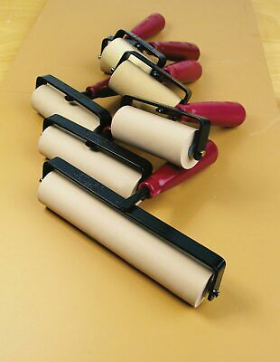 "Speedball Deluxe 4"" Soft Rubber Brayer Carded"