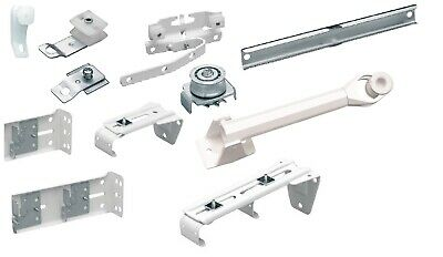 Integra curtain track regular fittings straight Master slides metal corded