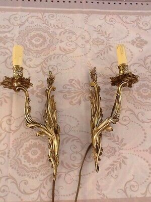 Antique Pair Of French Wall Lights