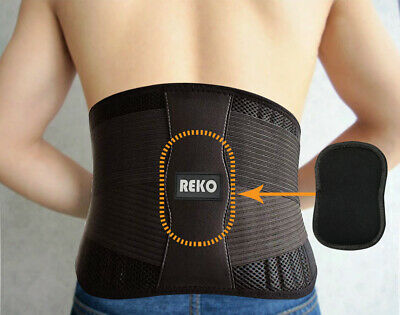 Premium Quality Lumbar Back Support Brace 3 in 1 Features (limited time offer)
