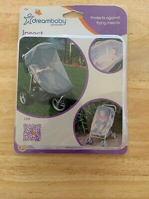 Dreambaby Insect Netting For Stoller/bassinettes In White