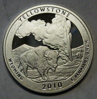 2010-S Grand Canyon Arizona Gem DCAM Silver Proof Parks Quarter Stunning Coin