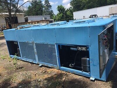 20 TON Bluchill  AIR COOLED CHILLER 4- 5 ton circuits W/Resovoir and pumps USED