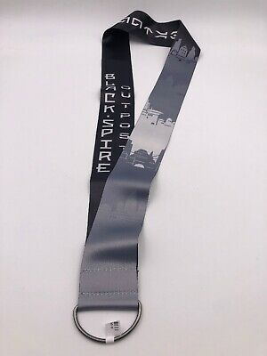 Disneyland Star War Galaxy Edge: Black Spire Outpost Lanyard (G7)