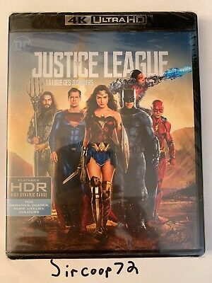 Justice League (4K Ultra HD + Blu-Ray) Brand New! English/French