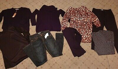 Bulk womens winter clothes size 12-14 some nwt