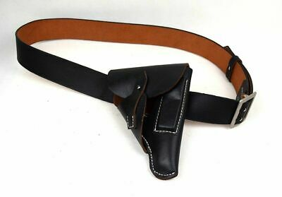 """S 32-37"""" Wwii German Walther Ppk Holster & Officer Double Claw Belt Set Repro"""