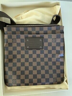 d75045ad4 MEN`S USED LOUIS Vuitton Damier Graphite Canvas Avenue Sling Bag LV ...