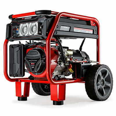 TOP RATED 8.4kVA Max 6kVA  Generator Single-Phase EASY TO MOVE ELECTRIC START