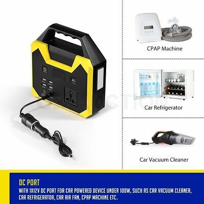 68800mAh Portable Generator Charging Station Use it anywhere: outdoor CAMPING