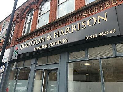 3mm floating acrylic letters, shop signs, hair & beauty salons, business signs