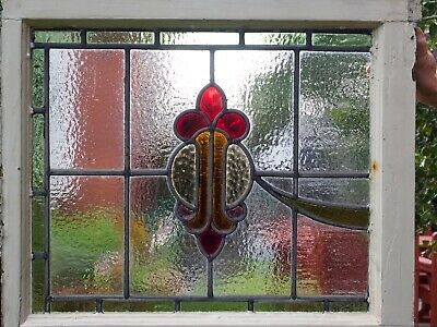 Stained glass windows. Complementary pair. Good condition. No cracks.