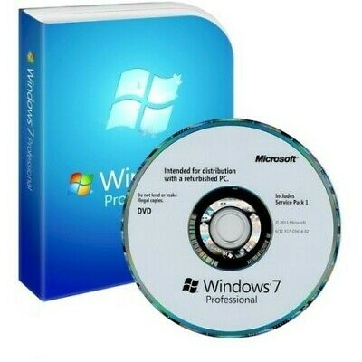 Microsoft Windows 7 Professional Sp1 64-bit  OEM DVD pack