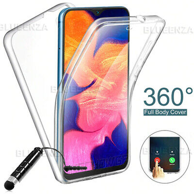 FULL COVER 360° Gel Silicone Case For Samsung Galaxy A10 A20e A40 A70 S10e S10+