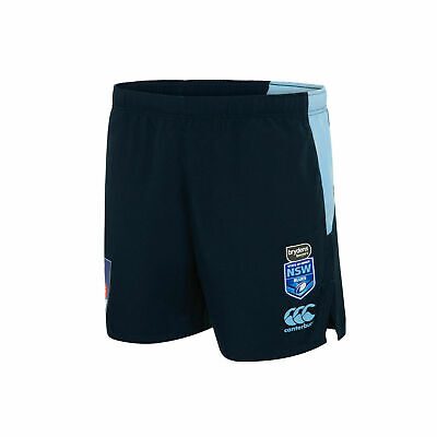 New South Wales Blues Origin CCC 2019 Players Gym Shorts Sizes S-4XL!