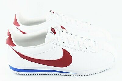 quality design 634a9 818a5 Nike Classic Cortez Leather Mens Size 11.5 Shoes Forrest Gump White 749571  154