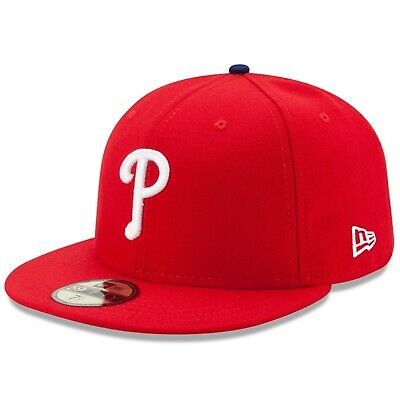 newest 4c0d8 69e3c New Era Philadelphia Phillies GAME 59Fifty Fitted Hat (Red) MLB Cap