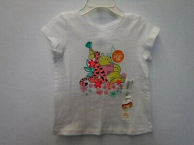 Girls Size 18 Months Disney Jumping Beans Pooh Tigger White Shirt New #15027