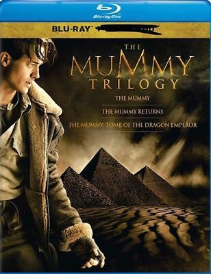The Mummy Trilogy Blu-ray Disc with case/artwork.Free fast shipping/tracking