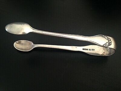 Sterling Silver Sugar Tongs - Joseph Rodgers Sheffield 1905 - Antique